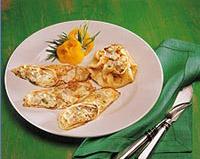 Рецепт. Норвежские блины с салатом из сельди