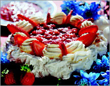 Торт-безе Павлова.