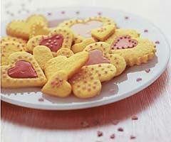 Цитрусовое печенье.