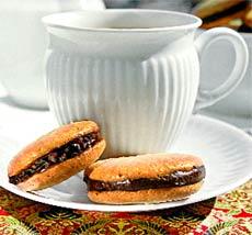 Миндальное печенье.