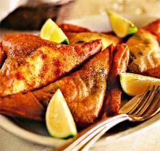 Брики (хрустящие пирожки с начинкой) (Тунисская кухня).