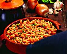 Паста-чичи (Итальянская кухня).
