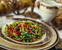 Пастичча ди лазанья верде алла флорентина (Итальянская кухня).