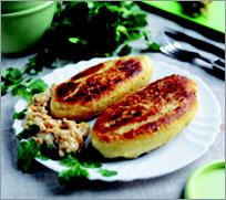 Цеппелины (зразы картофельные)