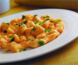 Тыквенные ньокки с пряным маслом (Итальянская кухня).