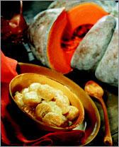 Картофельные ньоки с тыквой (Итальянская кухня).