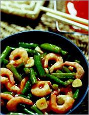 Креветки по-китайски (Китайская кухня).