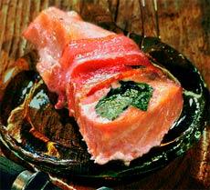 Горячая закуска из семги (Норвежская кухня).