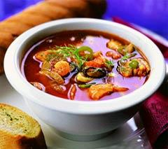 Суп по-провански.