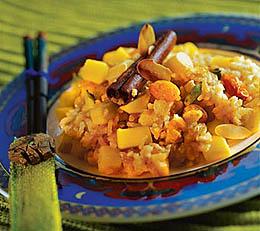 Плов с мидиями и рапанами – кулинарный рецепт