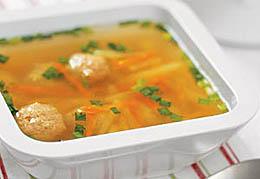 Тосканский суп с фрикадельками.