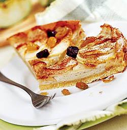 Креольский яблочный пирог.
