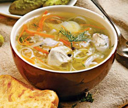 """Старорусский рыбный рассольник """"Калья"""" – кулинарный рецепт"""